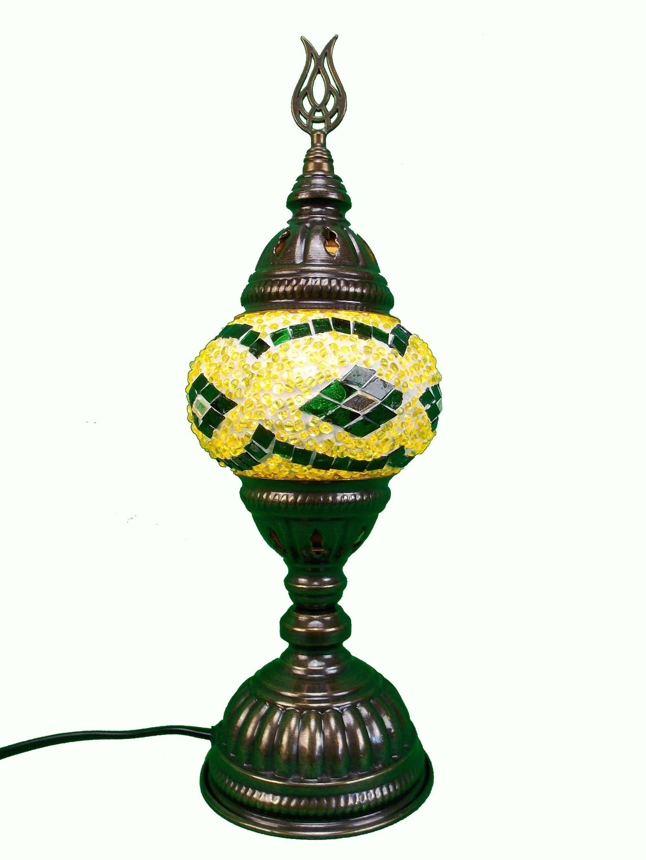Lampa turceasca din mozaic handmade h30cm
