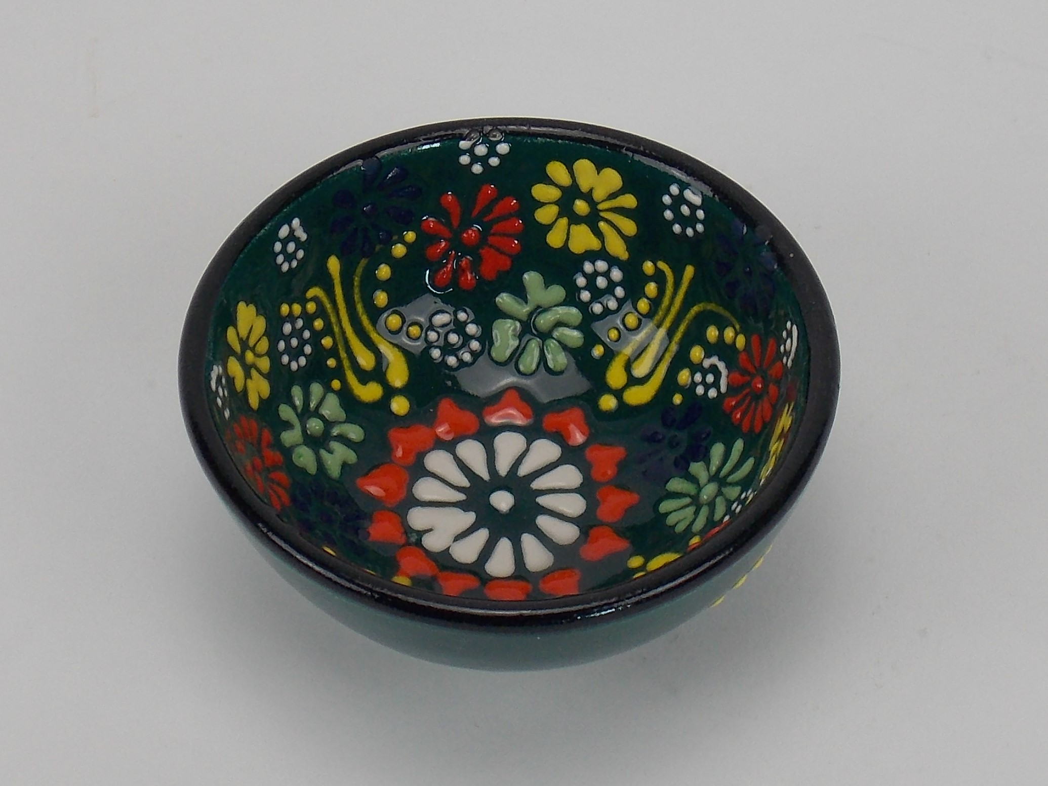 Bol din ceramica - 12 cm diverse culori