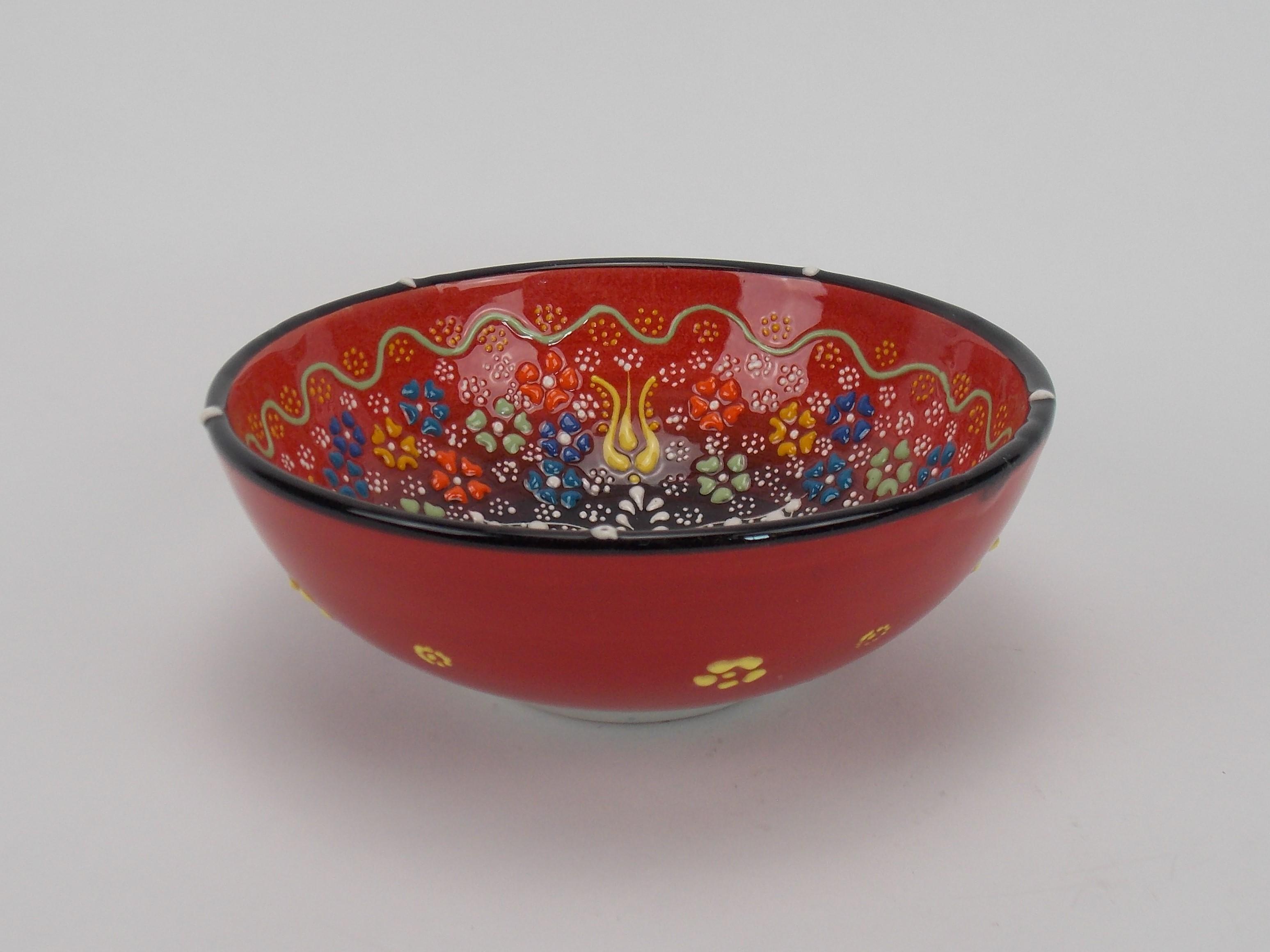 Bol din ceramica - 16 cm diverse culori