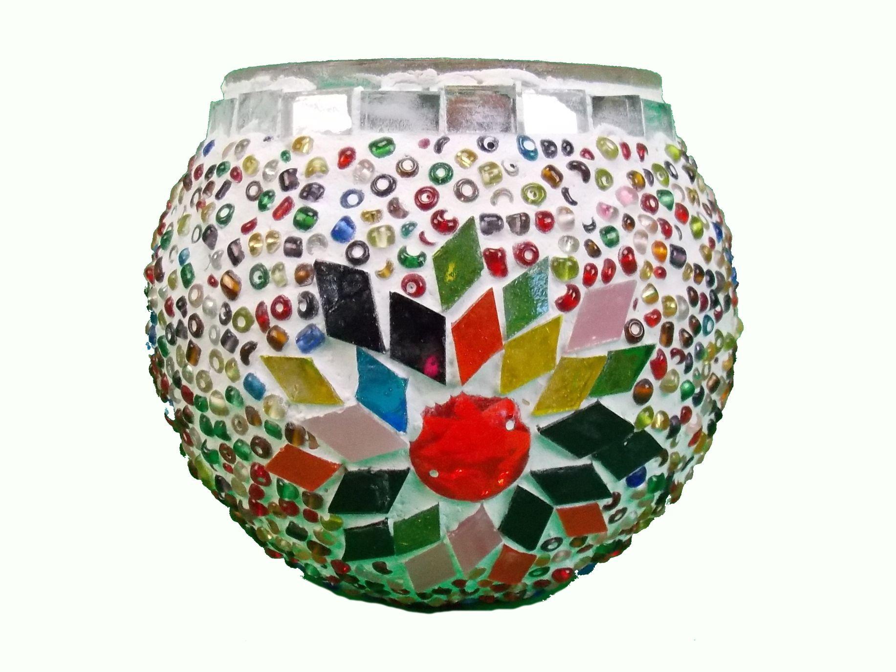 Candela mozaic 9cm