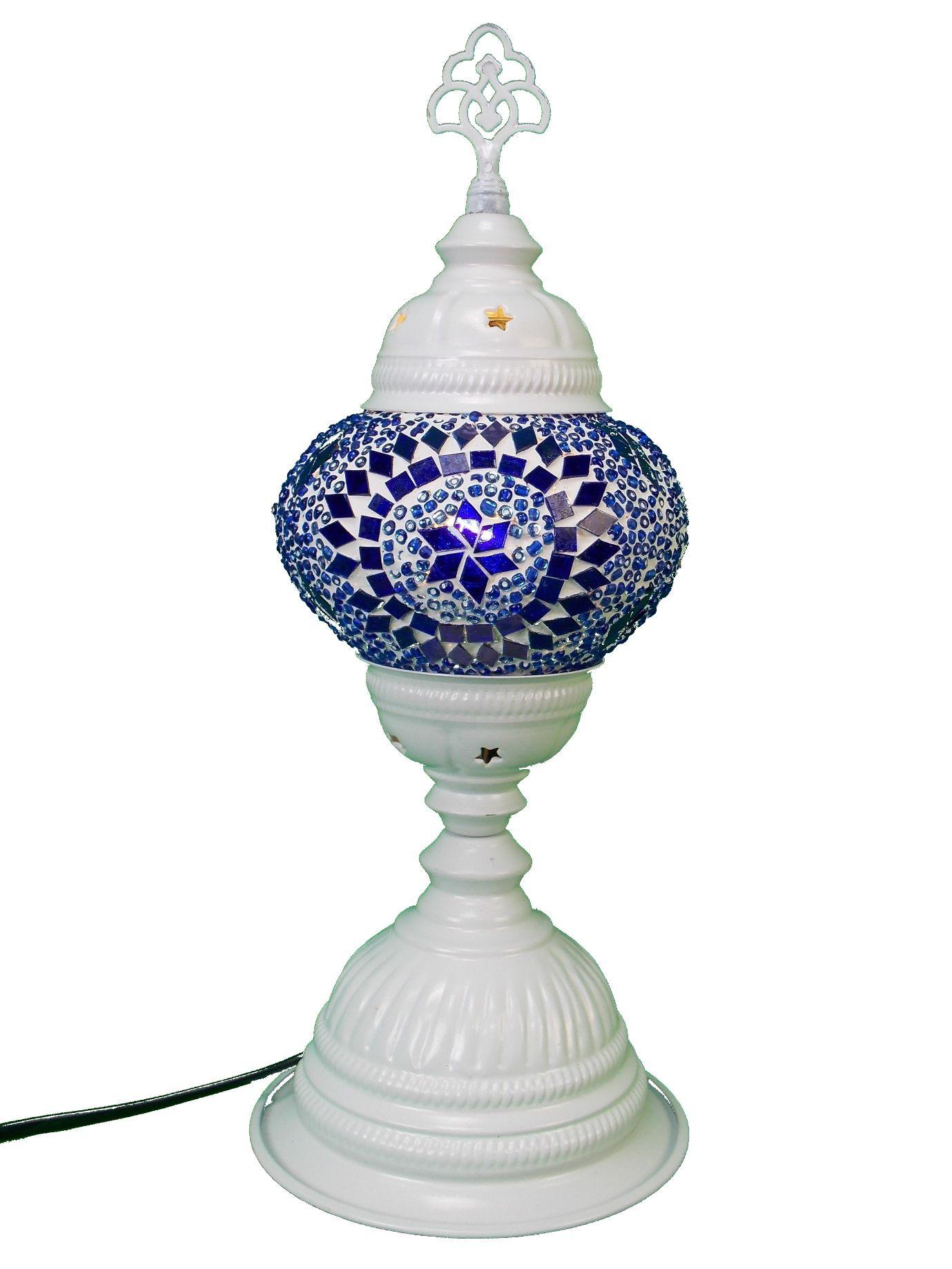 Lampa turceasca cu glob de sticla mozaic