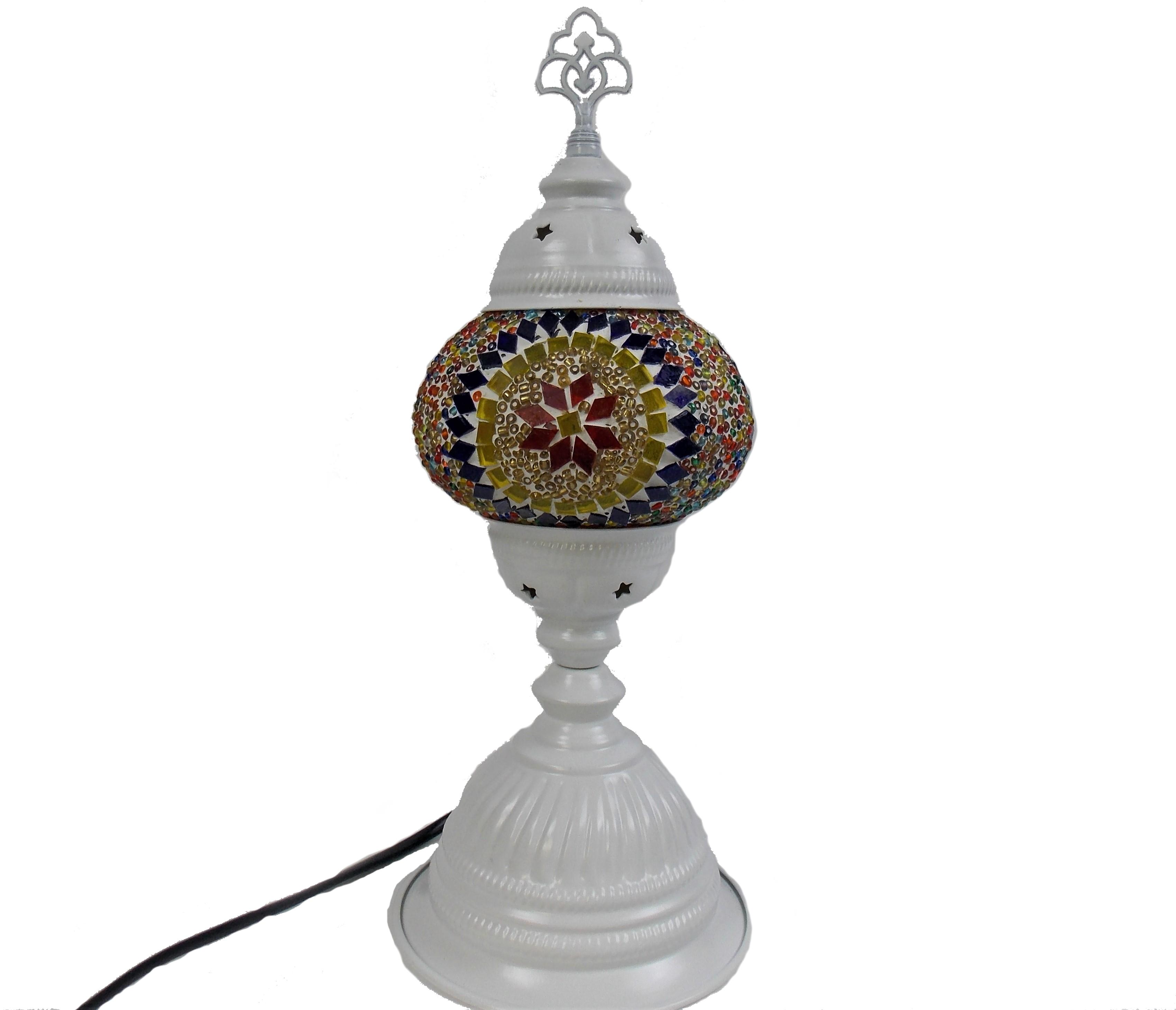 Lampa mozaic orientala handmade 38 cm h