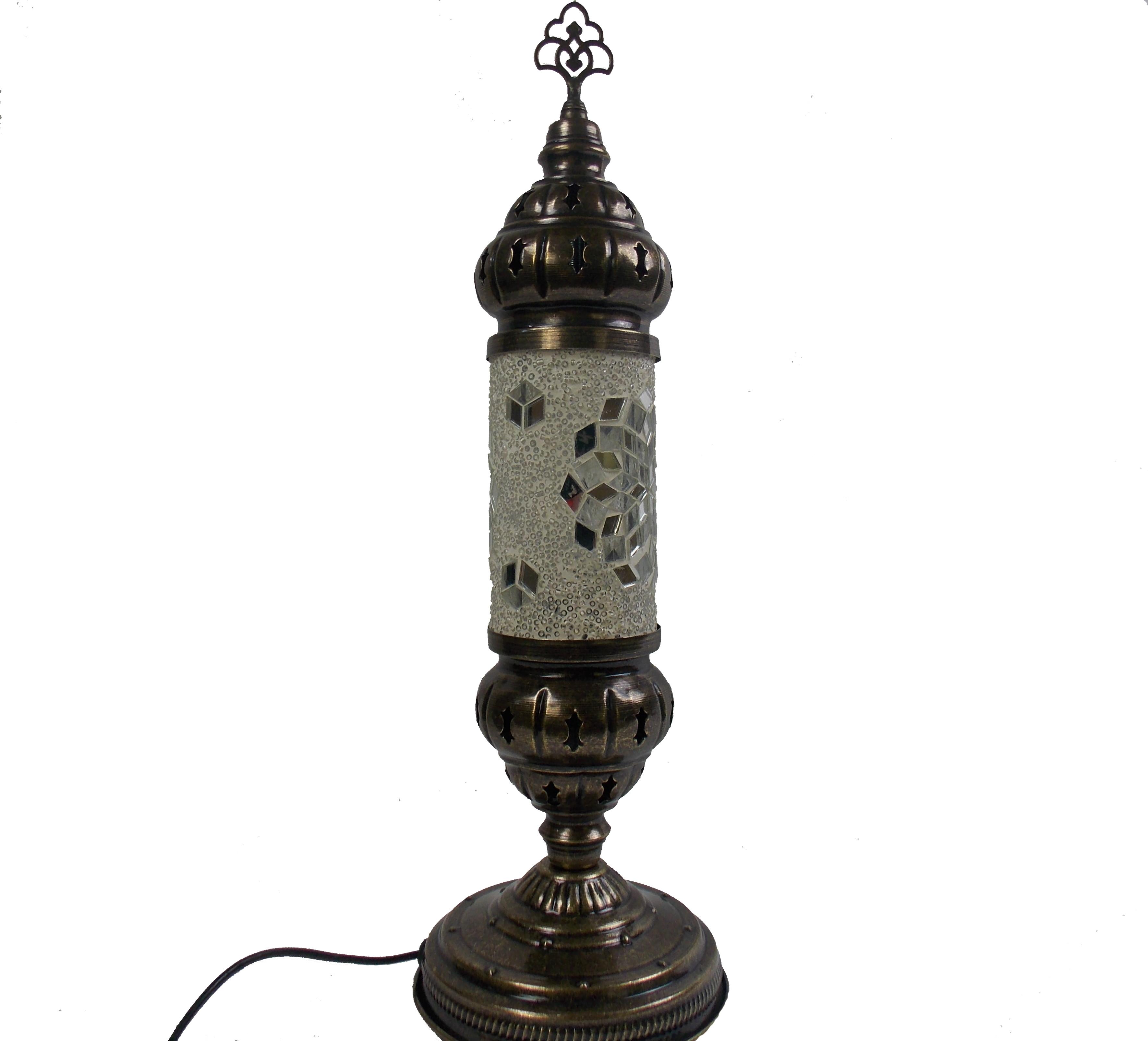 Lampa mozaic handmade model cilindru