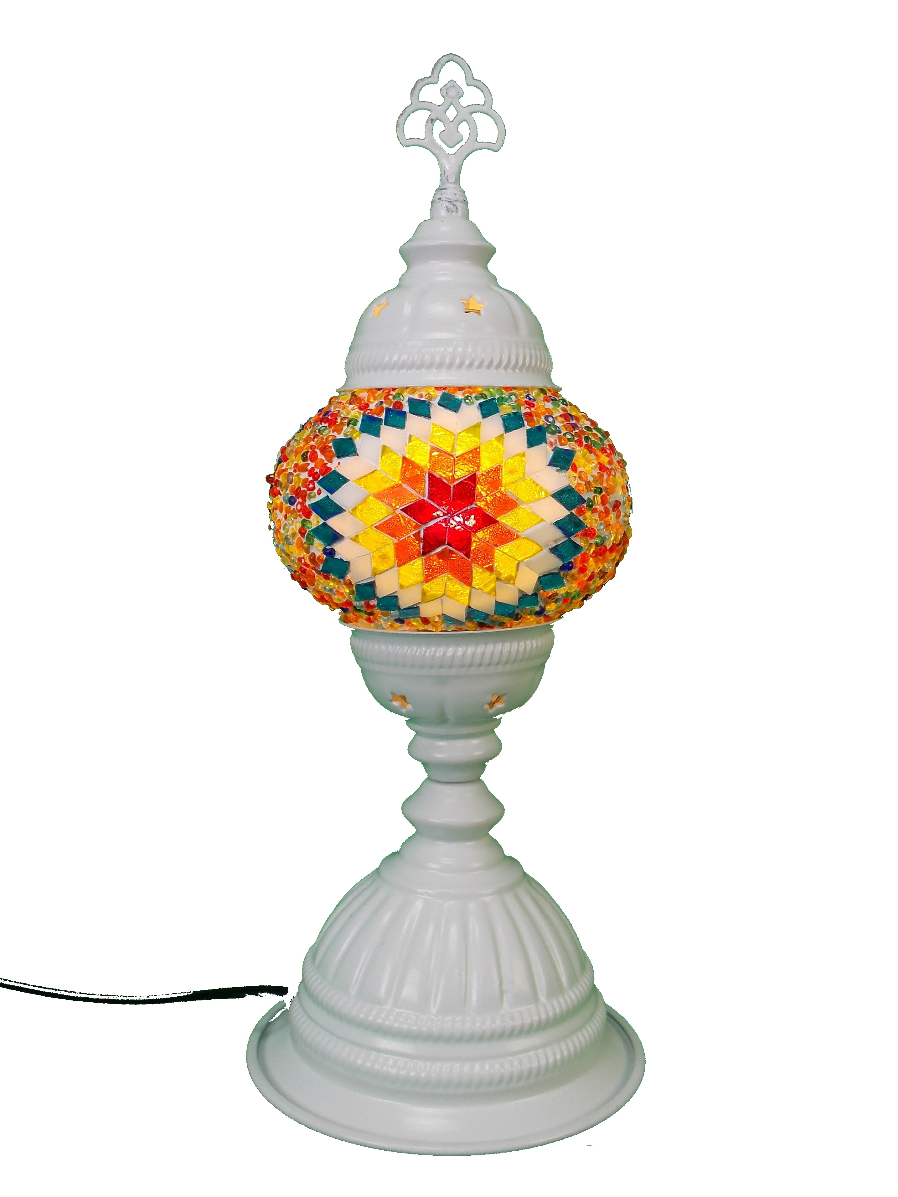 Veioza din mozaic orientala handmade 38cm